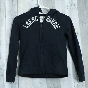 abercrombie kids | Boys 9/10 Navy Zip Up Hoodie